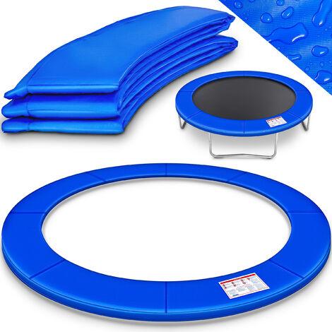 KIDUKU Coussin de protection Trampoline Ø 244 Couverture Rembourrage, résistant aux intempéries, aux UV et au gel