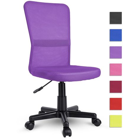 TRESKO Chaise de bureau LILAS, Fauteuil de bureau - Hauteur Réglable - Pivotante