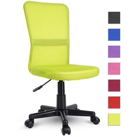 Tresko Sedia Da Ufficio Sedia Da Scrivania Girevole In 6 Colori Diversi Regolabile In Altezza