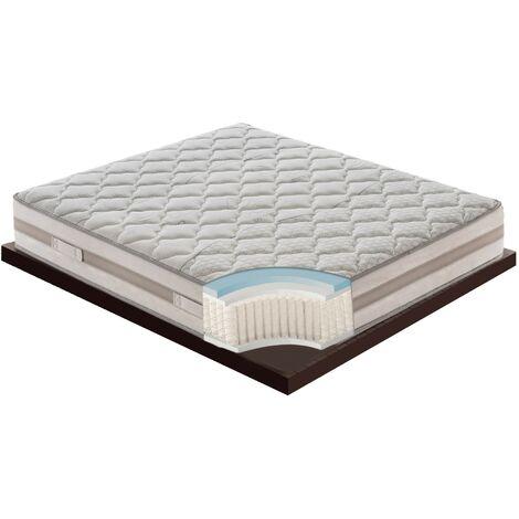 Materasso Relax 800 Molle Insacchettate E Memory Foam Mymemory 9 Zone Alto 25cm 80x190