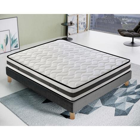 Materasso 80x200 in memory foam - 9 Zone differenziate Ortopedico - con 4 cm di Memory ELIOCELL - Presidio Medico - 100% Made in italy