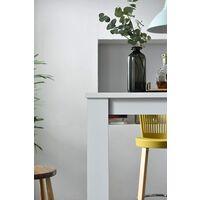 Cherry Tree Furniture DRAMMEN High Bar Table, White