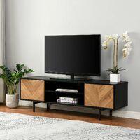 Cherry Tree Furniture Brooklyn 140cm Wide TV Unit