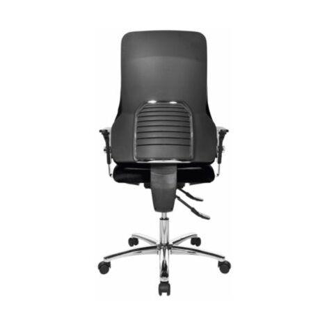 Schreibtischstuhl | Rückenlehnenhöhe 600 mm | Schwarz | Topstar Drehstuhl