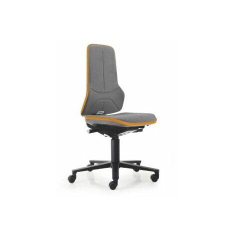 NEON Arbeitsdrehstuhl, Sitzmaterial Supertec, Flexband orange Bürostühle