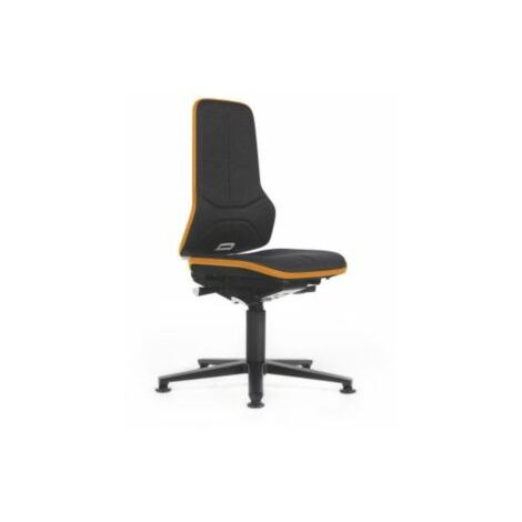 NEON Arbeitsdrehstuhl, Sitzausführung Stoff, ESD, Flexband orange Bürostühle