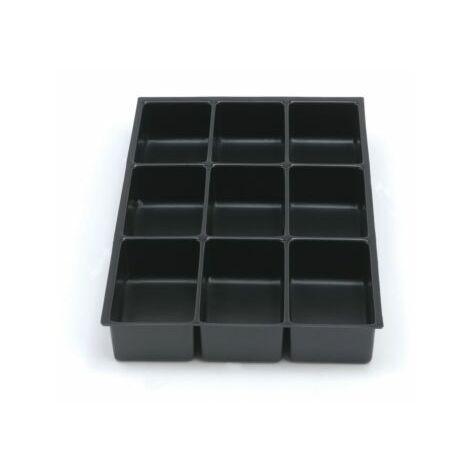 Bisley MultiDrawer™ Schubladeneinsatz | Höhe 45 mm | 9 Fächer | 226P5/5