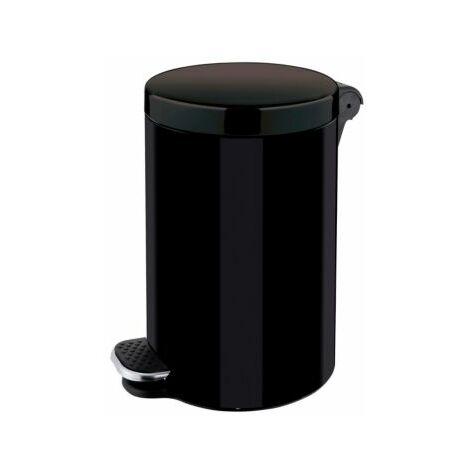Tretabfallbehälter | 3 l | HxØ 260 x 170 mm | Schwarz