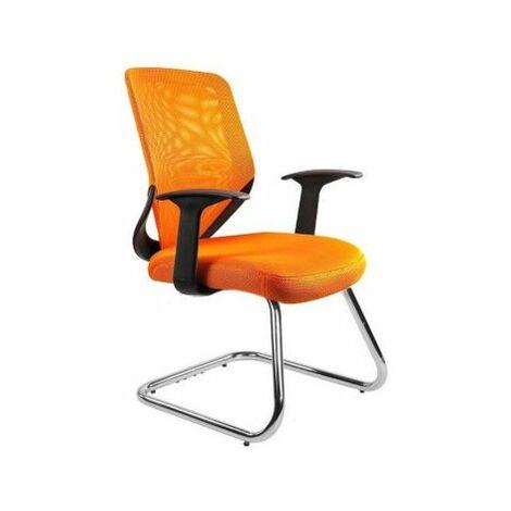 Konferenzstuhl Hannes | HxBxT 920 x 620 x 500 mm | Orange | Certeo Bürostuhl
