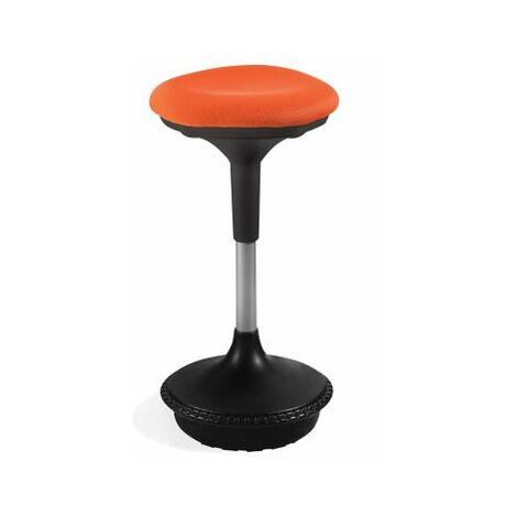 Hocker Kevin   H 860 mm   Orange   Certeo Bürostuhl schreibtischstuhl