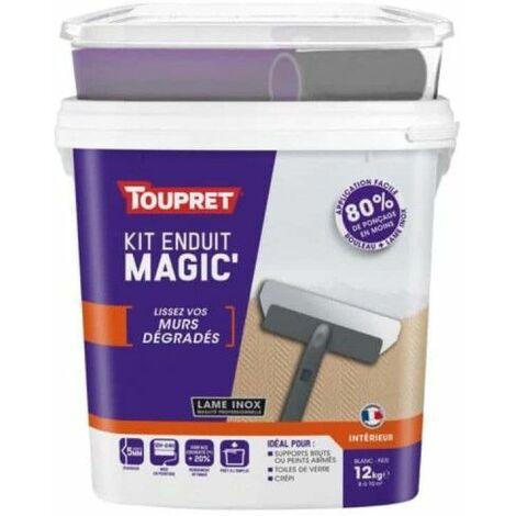 Magic'Mur TOUPRET Kit de revestimiento de pasta iluminada 12Kg - MAGG12K