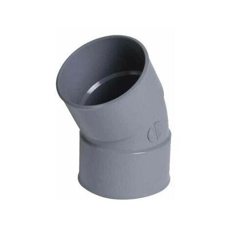 Codo de PVC NICOLLL drain - 30° - Diámetro 100 - Hembra - Hembra - 57424S