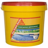 Suplemento impermeabilizante para piscina SIKA Recubrimiento Piscina - Espuma blanca - Kit 6,16kg - Blanc