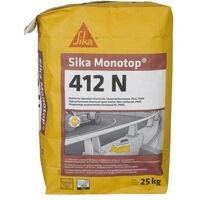 Mortero de reparación SIKA SikaMonoTop-412N - 25 kg - Gris - Gris