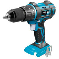 Taladro destornillador de percusión KOMA 20V - 2 baterías 2Ah - 1 cargador - 08750