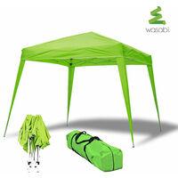 Tonnelle Wasabi Compact 3x3m pliante vert