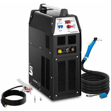 Cortadora De Plasma Con Compresor Integrado Máquina Digital 40A Hasta 12Mm 2T/4T