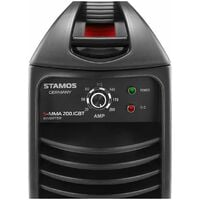 Equipo De Soldar Por Electrodo 200A Soldadora Inverter Mma Hot Start 4280W 230V