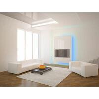 Tira LED 3528 SMD azul para interiores