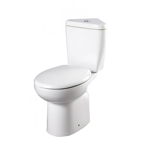 Pack WC à poser d'angle moderne