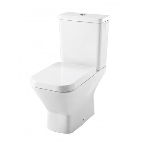Pack WC à poser sortie horizontale Moderne - Diago