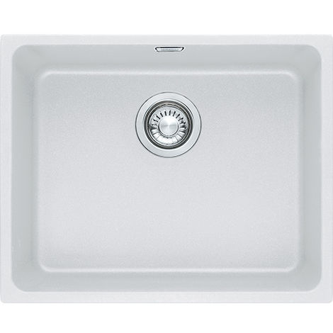 Franke Kubus Kbg 110 50 1b Undermount Kitchen Sink White