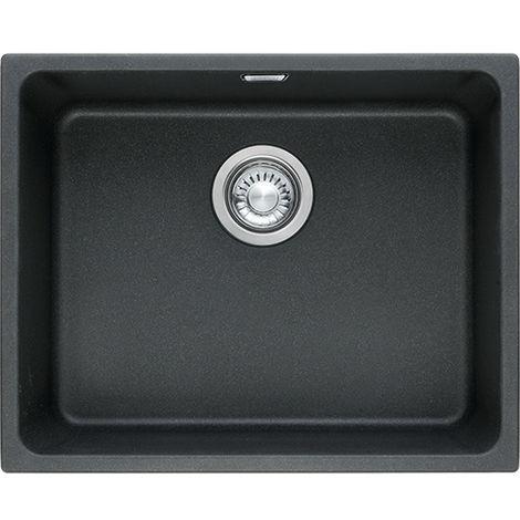 Franke Kubus Kbg 110 50 1b Undermount Kitchen Sink Fragranite Onyx Black