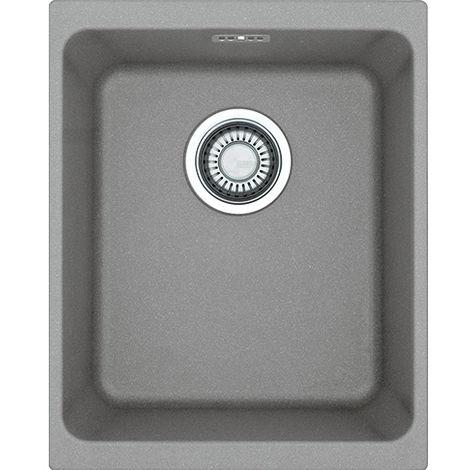 Franke Kubus Kbg 110 34 1b Undermount Kitchen Sink Stone Grey