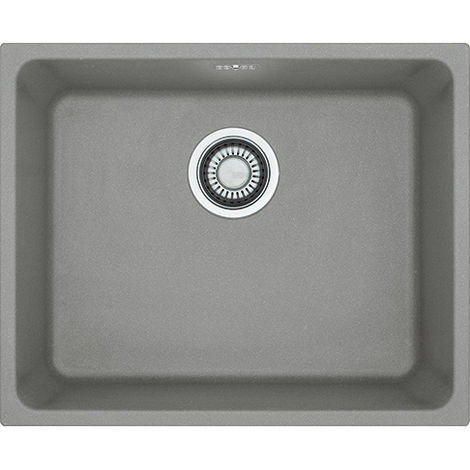 Franke Kubus Kbg 110 50 1b Undermount Kitchen Sink Stone Grey