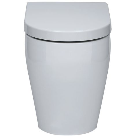 Emme Back to Wall Toilet with Soft Close Seat