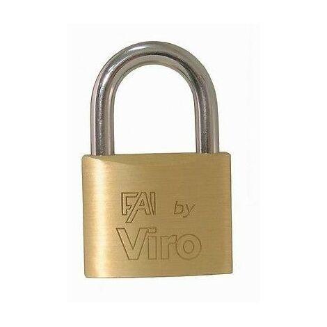 VIRO - laiton rectangulaire de cadenas (60 mm) - ART.556
