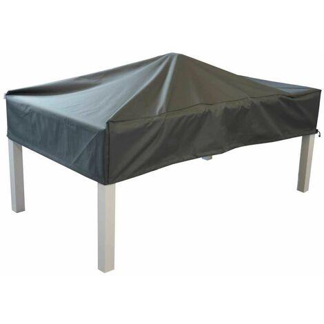 Housse de protection pour table - 200 x 100 cm - Grise
