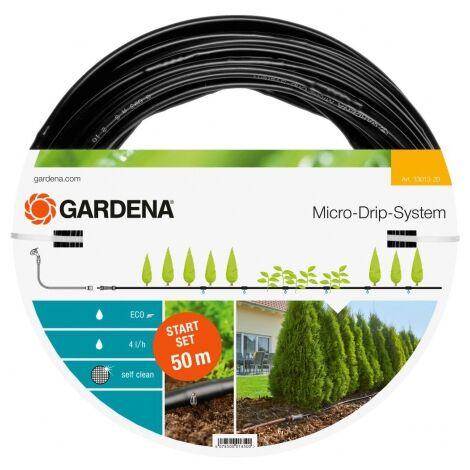 Kit d'irrigation Micro-Drip system pour les haies - 50m - 13 mm