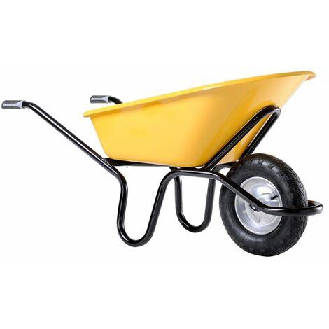 Brouette Bati Plus 110 L Reno Alpha peinte roue gonflée
