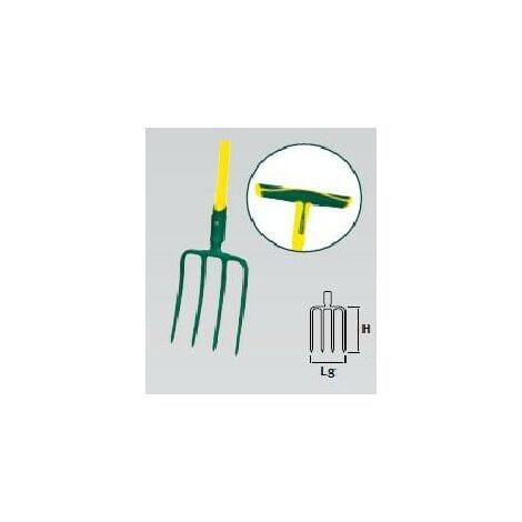 Fourche à bêcher douille - PRO -30 cm