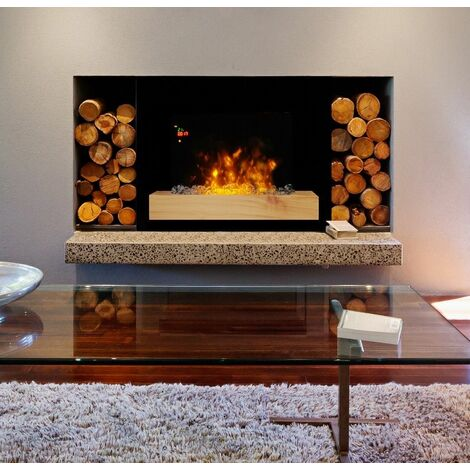 """Cheminée électrique design """"Fire Wood"""""""