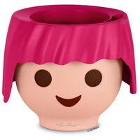 Pot OJO - Kit Complet, rose rubis - 21 × 21 × 15,75 cm