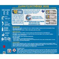Peinture bois extérieur Climats extrêmes® V33, rouge basque satiné 2.5 l
