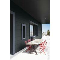 Peinture bois extérieur Climats extrêmes® V33, anthracite satiné 0.5 l
