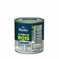 Peinture bois extérieur / intérieur Xpro3 RIPOLIN, vert olivier satiné 0.5 l