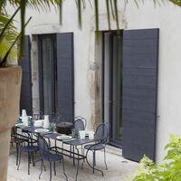 Peinture bois extérieur Couleurs d'ici® V33, bleu encré velours 0.125 l