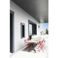 Peinture bois extérieur Climats extrêmes® V33, blanc brillant 0.5 l