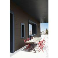 Peinture bois extérieur Climats extrêmes® V33, brun havane satiné 0.5 l