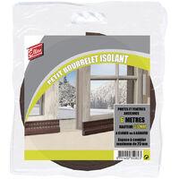 Joint de porte et fenêtre universel ellen bourrelet a clouer 6mx30mm marron - e