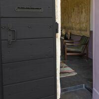 Peinture bois extérieur Couleurs d'ici® V33, noir ombré velours 0.125 l
