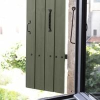 Peinture bois extérieur Couleurs d'ici® V33, kaki grisé velours 0.5 l