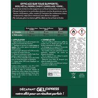 Décapant multisupport V33 Gel express, 1.2 l