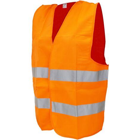 Tolsen - Veste de sécurité réfléchissante orange taille XXXL du outils Tolsen