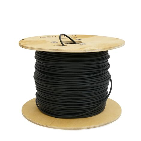 "BeMatik - Fibre optique bobine 9/125 fibre monomode 6 300 m à l""extérieur OS2"