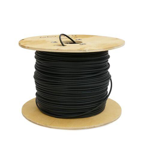 "BeMatik - Fibre optique bobine 9/125 fibre monomode 6 1000 m à l""extérieur OS2"